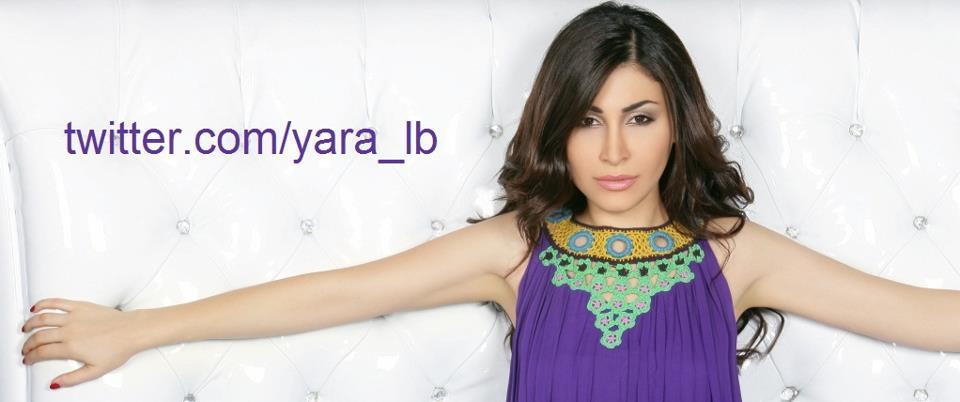 Yara with her twitter account info :)